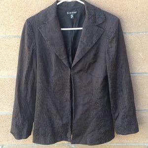 Bebe animal prints jacket blazer size 6